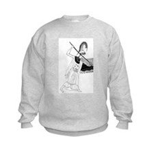 Athena vase drawing Sweatshirt
