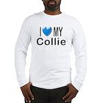 I Love My Collie Long Sleeve T-Shirt