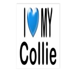 I Love My Collie Postcards (Package of 8)