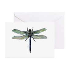 Green Darner Dragonfly Greeting Cards (Pk of 20)