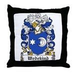 Wedekind Coat of Arms Throw Pillow