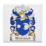 Wedekind Coat of Arms Tile Coaster