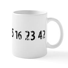 4 8 15 16 23 42 Lost Small Mug