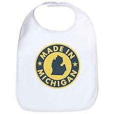 Made in Michigan Bib