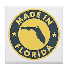 Made in Florida Tile Coaster