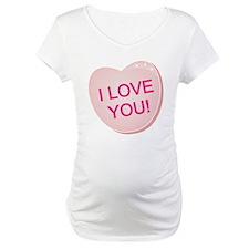 I Love You Heart Shirt