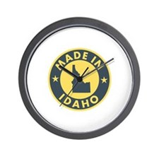 Made in Idaho Wall Clock