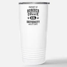 Property of Border Collie Univ. Travel Mug