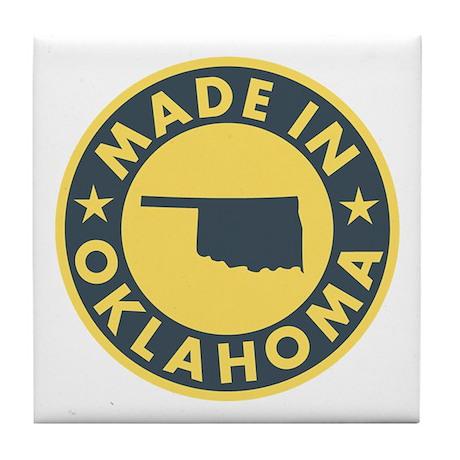 Made in Oklahoma Tile Coaster