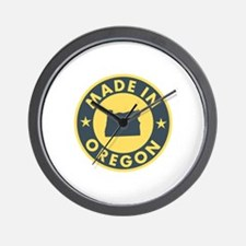 Made in Oregon Wall Clock