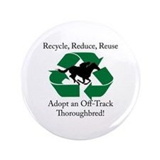 "Adopt an OTTB 3.5"" Button"