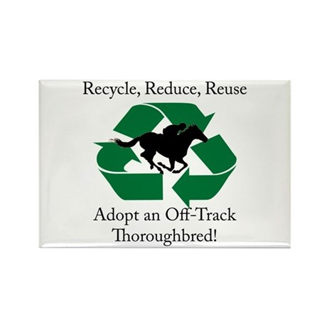 Adopt an OTTB Rectangle Magnet (10 pack)