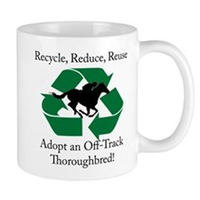 Adopt an OTTB Mug