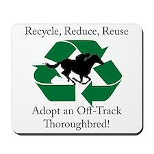 Adopt an OTTB Mousepad