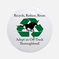 Adopt an OTTB Ornament (Round)