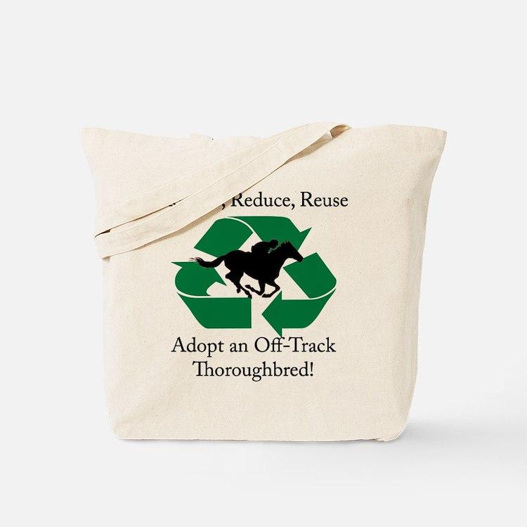 Adopt an OTTB Tote Bag