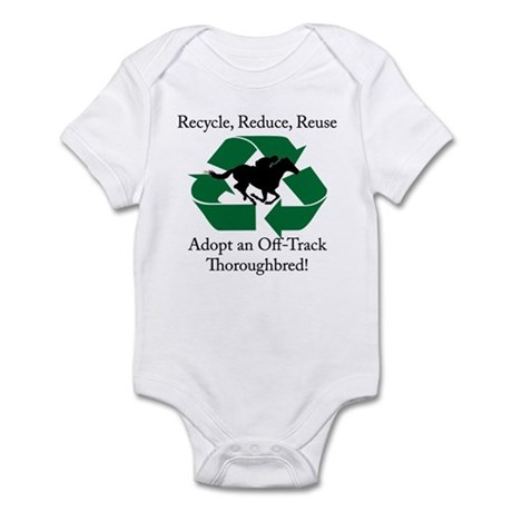 Adopt an OTTB Infant Bodysuit
