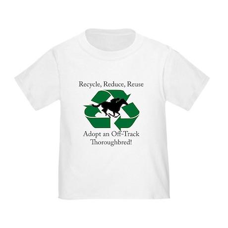 Adopt an OTTB Toddler T-Shirt