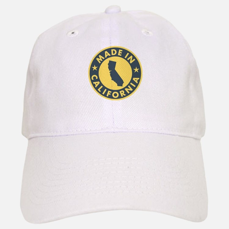 Made in California Baseball Baseball Cap