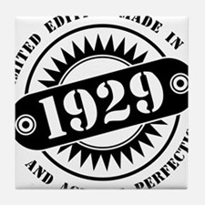 LIMITED EDITION MADE IN 1929 Tile Coaster