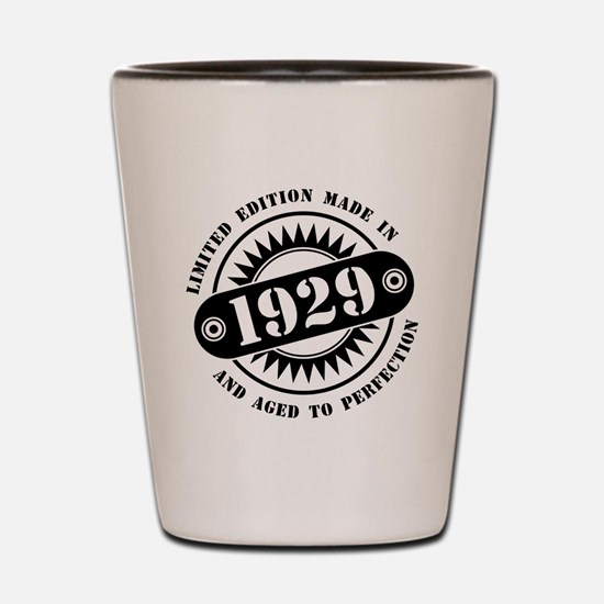 LIMITED EDITION MADE IN 1929 Shot Glass