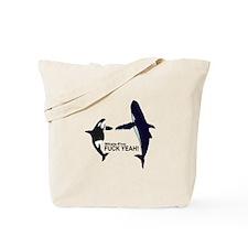 Whale-Five Tote Bag