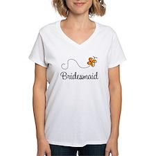 Pretty Wedding Bridesmaid Shirt
