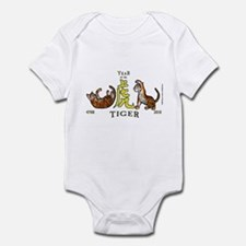 Chinese New Year 2010 Tiger Infant Bodysuit