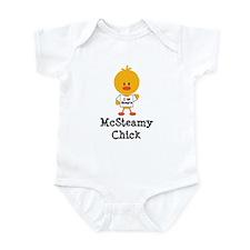 McSteamy Chick Infant Bodysuit