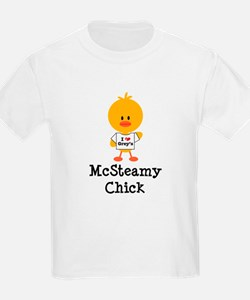 McSteamy Chick T-Shirt