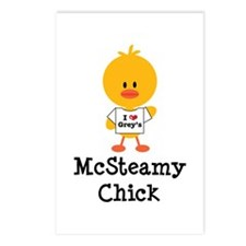 McSteamy Chick Postcards (Package of 8)