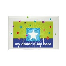 My Hero Collection Rectangle Magnet