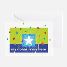 My Hero Collection Greeting Card