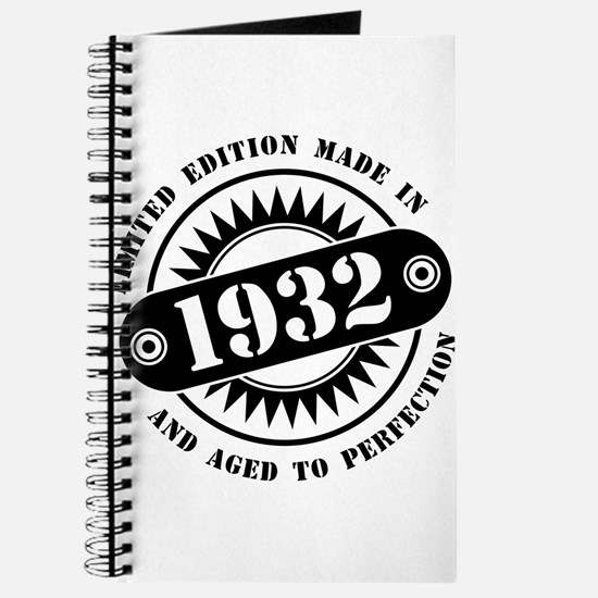 LIMITED EDITION MADE IN 1932 Journal
