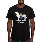 What a Weiner! Men's Fitted T-Shirt (dark)
