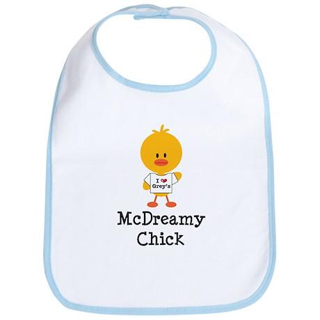 McDreamy Chick Bib