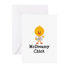 McDreamy Chick Greeting Cards (Pk of 10)
