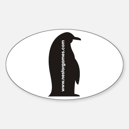 Cute Nestor Sticker (Oval)
