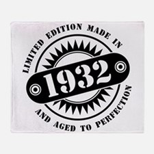 LIMITED EDITION MADE IN 1932 Throw Blanket
