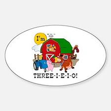 THREE-I-E-O Decal