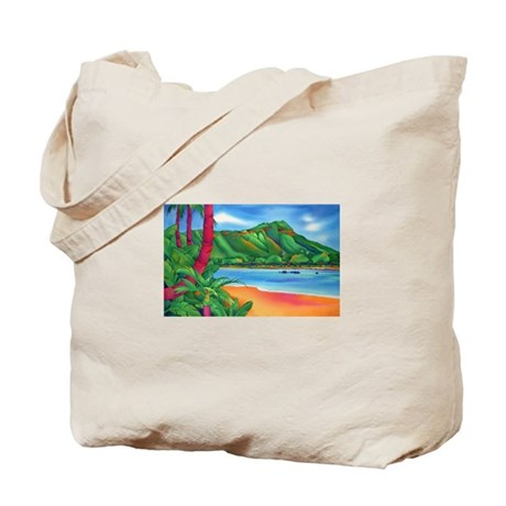 Diamond Head, Oahu Tote Bag