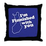 Finnish Throw Pillow