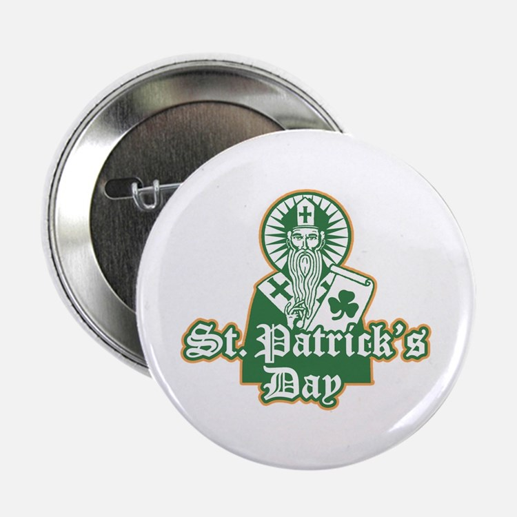 """St. Patrick's Day 2.25"""" Button"""