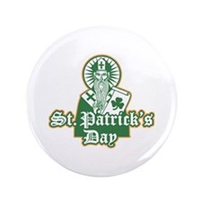 "St. Patrick's Day 3.5"" Button"