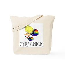 Gay Chick Tote Bag