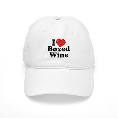 I Heart Boxed Wine Baseball Cap