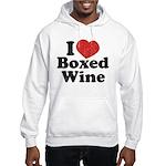 I Heart Boxed Wine Hooded Sweatshirt