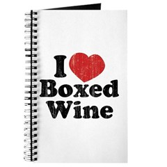 I Heart Boxed Wine Journal