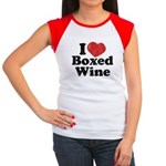 I Heart Boxed Wine Women's Cap Sleeve T-Shirt