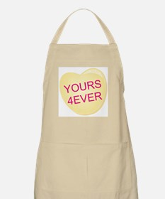 Yours 4 Ever Heart Apron